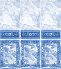 Коллекция с фризом: Барон Синий