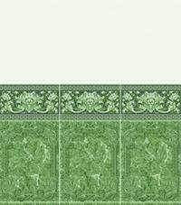 Коллекция с фризом: Лев Изумрудный