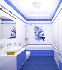 Коллекция Panda: Синий цветок
