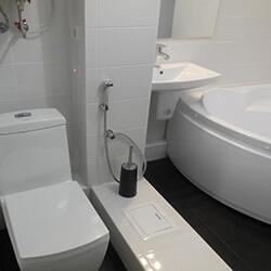 Ремонт совмещенной ванной плиткой